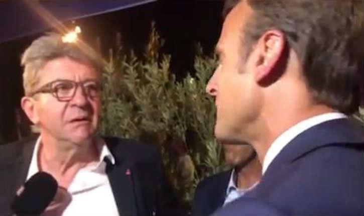 «Le plus grand xénophobe qu'on ait»: devant Macron, Jean-Luc Mélenchon a du mal à assumer ses propos