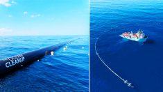 Nouvelle invention pour nettoyer l'océan Pacifique des ordures