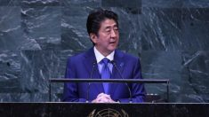 Abe Shinzo du Japon met en exergue la stratégie