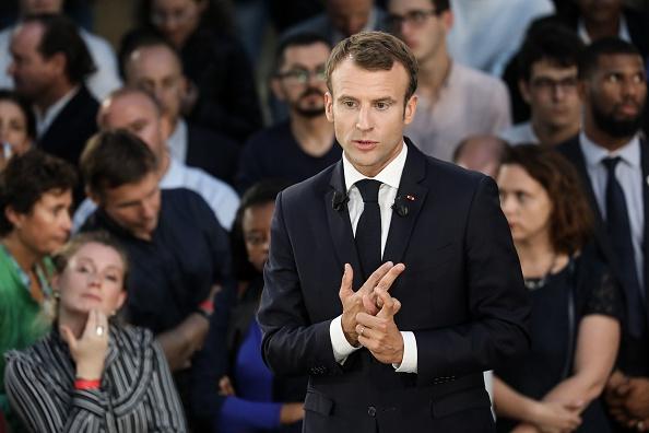 Emmanuel Macron aux start-up: l'Urssaf est «votre amie»