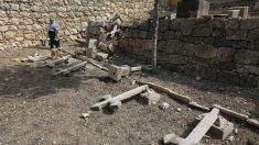 Israël: le cimetière d'un monastère chrétien vandalisé