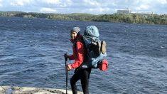 Durant une randonnée de 15 000 km, une femme parcourt le Grand Sentier du Canada