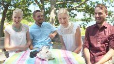 Un lien spécial : de vrais frères jumeaux épousent de vraies sœurs jumelles
