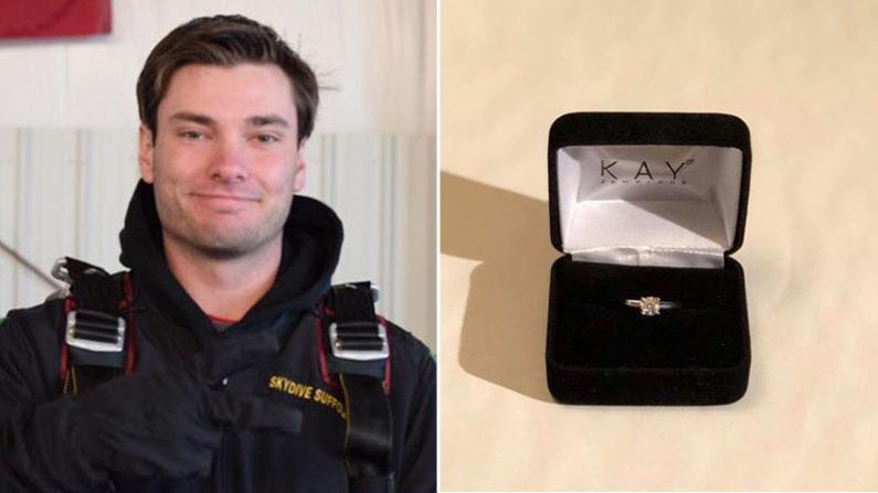 Concours unique en son genre: un homme offre une bague de fiançailles de 1 400 € après une rupture