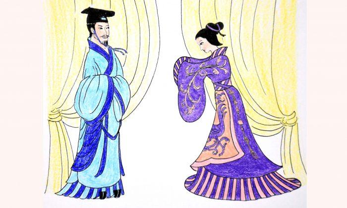 Le roi Zhuang devint puissant grâce à une dame de noble caractère