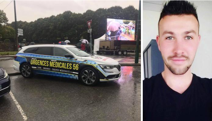Bretagne: un jeune homme de 22 ans crée une entreprise de transport d'organes et de sang