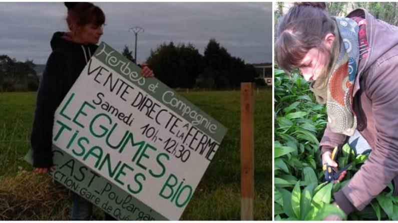 Bretagne: une agricultrice sommée de retirer un panneau indiquant l'adresse de sa ferme où elle fait de la vente directe