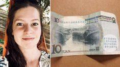 Une journaliste néerlandaise trouve un billet de banque «mystérieux» dont de nombreux Chinois ont peur