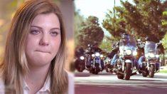 «On est plus effrayants que tout ce dont ils ont peur»: une fille maltraitée par son beau-père gagne la protection des motards