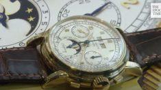 Sotheby's: la montre d'exception la plus chère se vend en 2018 aux enchères pour 3,43 millions €