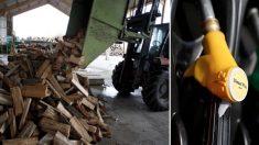 CARBURANTS - Une journée de chauffage au bois équivaut à 3500 km parcourus par une voiture diesel
