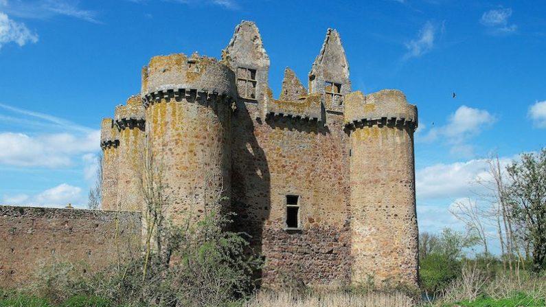 Deux-Sèvres – Mobilisation collective pour sauver le château de l'Ebaupinay de l'effondrement