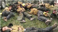 Des milliers de pompiers risquent leur vie en bravant les feux de forêt les plus meurtriers de Californie