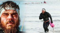 Un aventurier fait le tour des côtes britanniques à la nage pendant 157 jours, une première dans l'histoire du pays