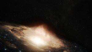 Des scientifiques observent pour la première fois la dernière étape de la fusion de trous noirs supermassifs