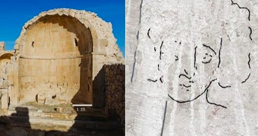Le « visage » de Jésus-Christ découvert dans une église vieille de 1 500 ans en Israël C2331a5cc4fa170a959ef583584a4b64