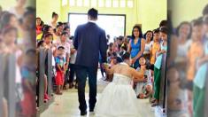 Le pouvoir de l'amour véritable : ces photos de mariage d'une mariée avec le nanisme deviennent virales