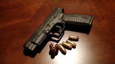 Des armes de poing découverts dans une école primaire