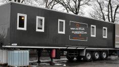 NANTES - Avec son association, un architecte transforme des camions frigo en hébergement pour SDF