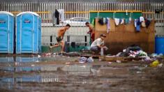 Un tiers des membres de la Caravane de migrants ont des problèmes de santé, notamment des poux et la tuberculose