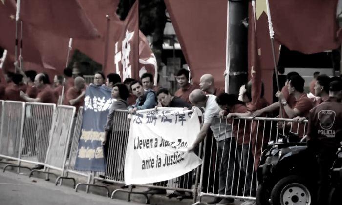 G-20: des pratiquants de Falun Gong arrêtés pour avoir manifesté pacifiquement contre les abus du régime chinois