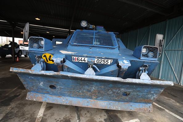Maintien de l'ordre à Paris: usage exceptionnel des blindés à roues de la gendarmerie