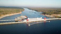 Ouverture du plus gros barrage hydroélectrique du Cambodge, avec l'aide de Pékin