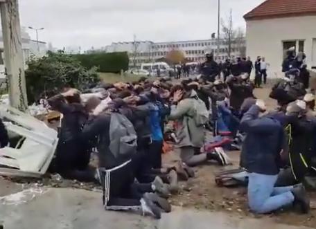 Yvelines: 151 interpellations devant un lycée de Mantes-la-Jolie après des incidents