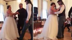 La famille planifie une danse père-fille surprise pour la mariée qui a perdu son père