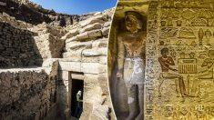 Une tombe égyptienne de 4 400 ans découverte intacte sous le sable à Saqqara