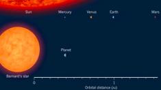 La vie extraterrestre pourrait exister sur une grande planète à 30 milliards de kilomètres de la Terre