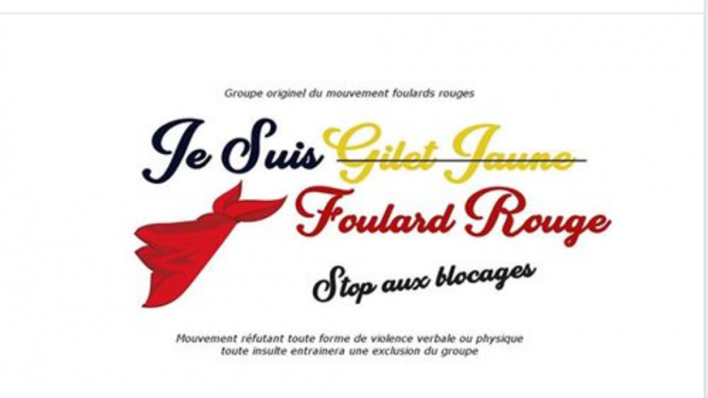«Gilets jaunes»: des «foulards rouges» défilent à Paris pour les institutions et contre les blocages