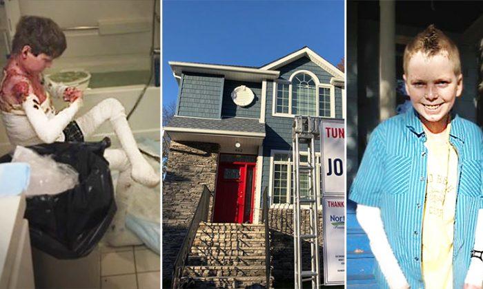 Un garçon à la «peau de papillon» ne s'attendait pas à une nouvelle maison intelligente de la part d'un organisme caritatif local de New York