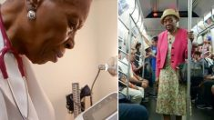 Un médecin de New York âgé de 92 ans, ayant en charge 200 patients, prend le métro pour se rendre au travail et n'a pas l'intention de prendre sa retraite