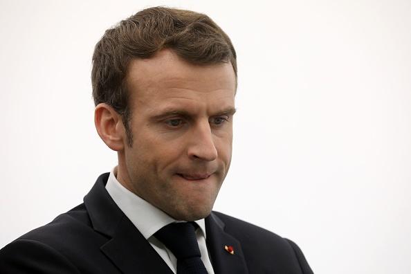 Emmanuel Macron à la Maison du hand à Créteil, attendu par 150 manifestants pacifiques