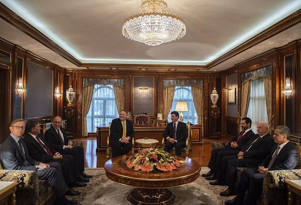 Face à l'Iran, Pompeo appelle les pays du Moyen-Orient à «dépasser les vieilles rivalités»