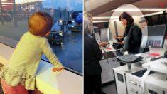 Une inconnue offre un billet d'avion de 660 € à une fillette de 2 ans dont le père «était pris au dépourvu»