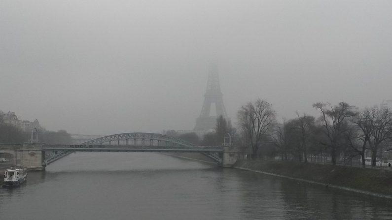 Paris n'a eu que 4 minutes de soleil pendant la 1ère semaine de janvier