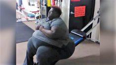 La vidéo d'entraînement d'une femme de 272 kilos inspire des millions de personnes sur Facebook