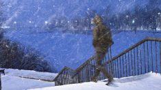 Un étranger voit un adolescent marcher 16 km dans la neige pour se rendre à une interview et lui offre un emploi