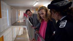 Dans une prison du Vaucluse, grand débat avec la ministre de la Justice Nicole Belloubet