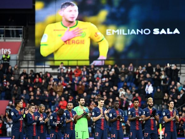 Hommage à Sala: une minute de silence avant les matchs de Coupes d'Europe