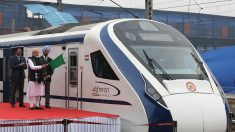 Inde :  le train le plus rapide du pays heurte une vache et tombe en panne