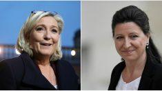 Accusée de jouer un«double-jeu» et de manger «à tous les râteliers» par la ministre de la Santé, Marine Le Pen va porter plainte