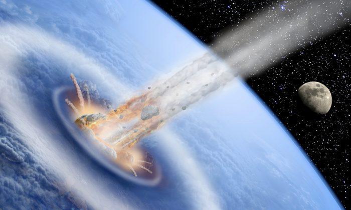 Selon la NASA, un astéroïde de la taille d'un terrain de football est passé près de la Terre