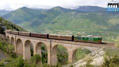 Italie: un vieux train restauré pour voyager dans le temps