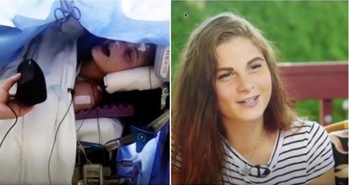 Une adolescente reçoit la consigne de chanter durant sa chirurgie du cerveau