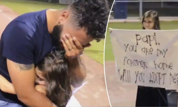 Une petite fille de 8 ans surprend son beau-père avec une demande d'adoption