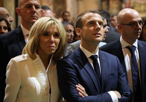 Amende pour un Italien qui avait menacé Emmanuel et Brigitte Macron