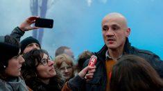 Christophe Dettinger l'ancien boxeur suspendu de ses fonctions par la mairie d'Arpajon dans l'Essonne